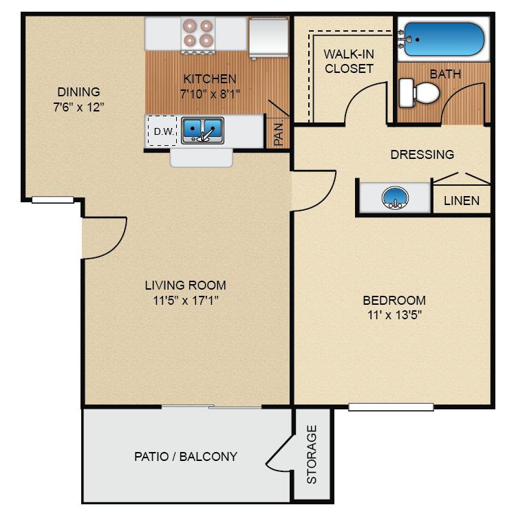Pines floor plan image
