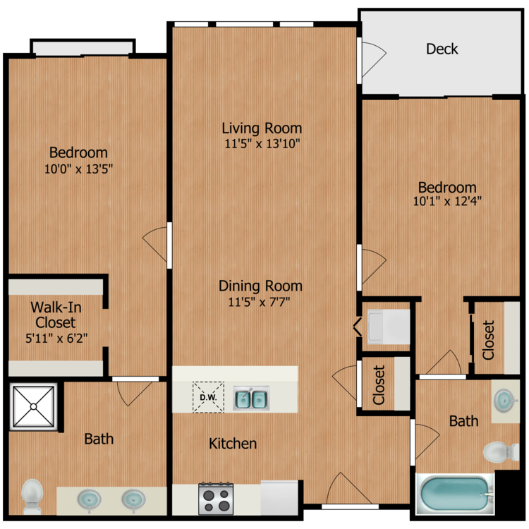 Floor plan image of The Mathew