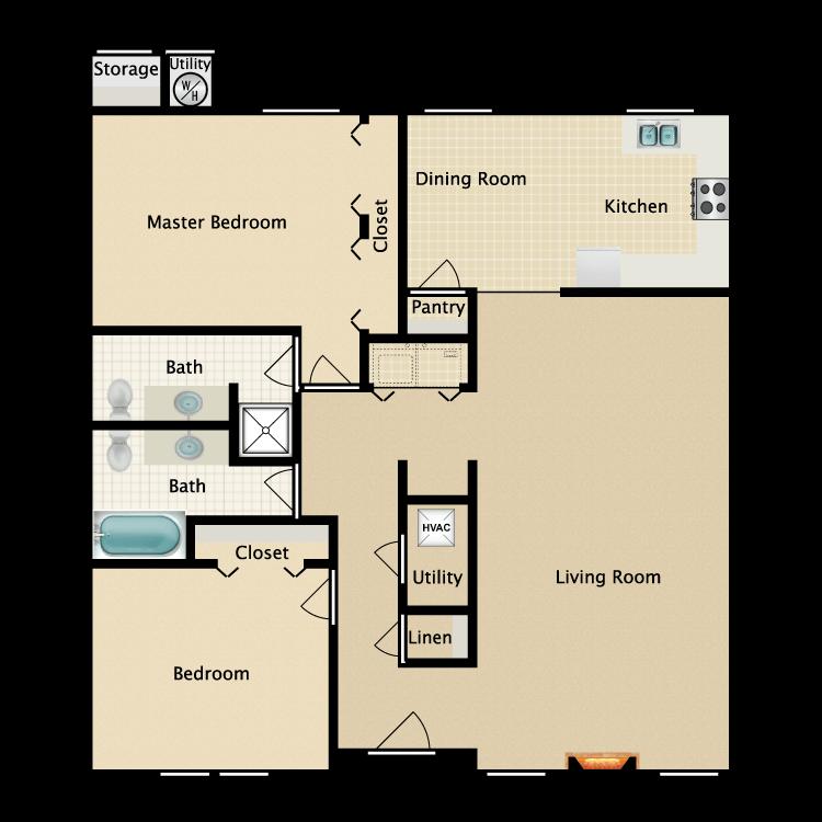 Floor plan image of Barcelona (Manor)