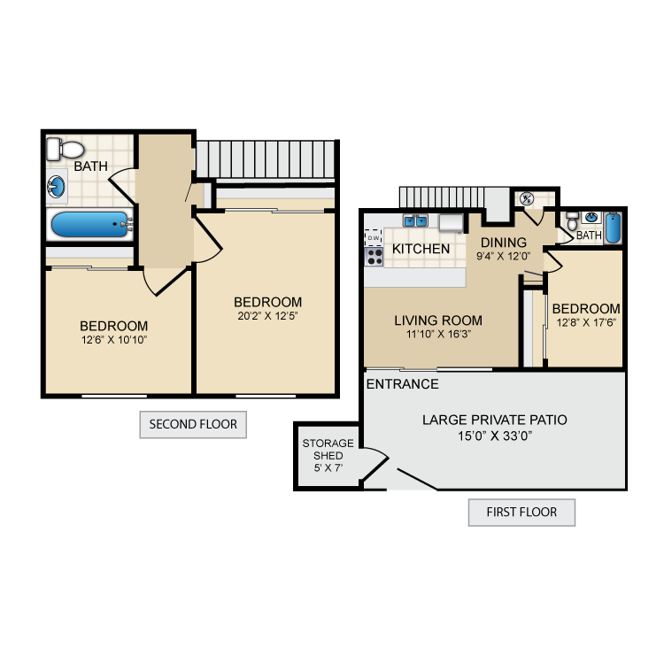 Floor plan image of Lefty