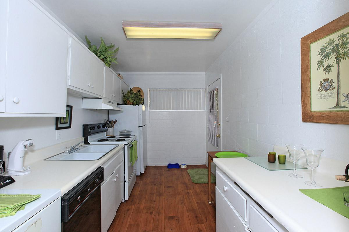 The Palms provides well-equipped kitchens
