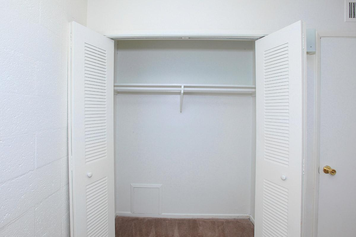 GIANT CLOSETS AT THE PALMS APARTMENTS LAS VEGAS