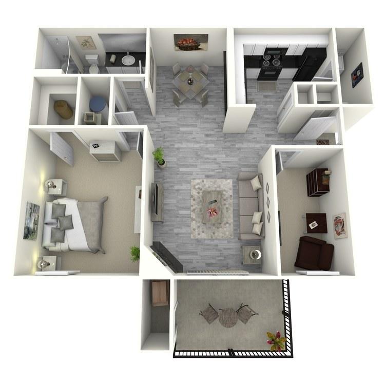 Floor plan image of Marina R