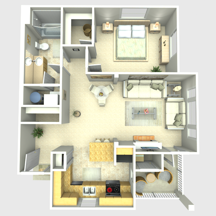 Floor plan image of Alder