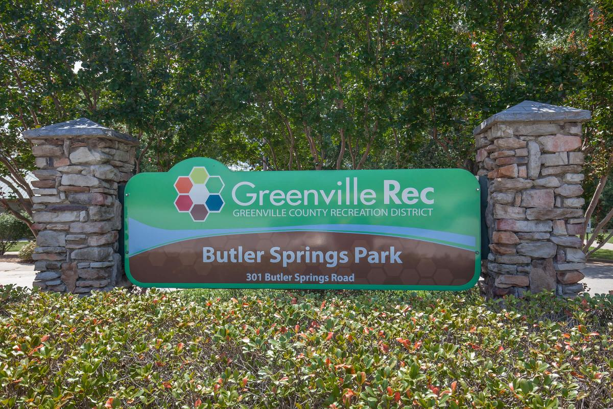 Butler Springs Park at Haywood Pointe in Greenville, South Carolina.