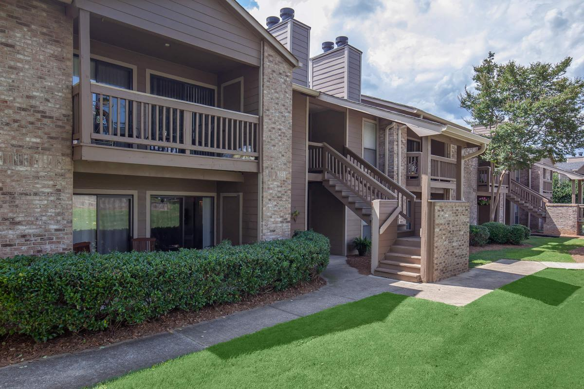 Personal balcony or patio at Haywood Pointe in Greenville, South Carolina.