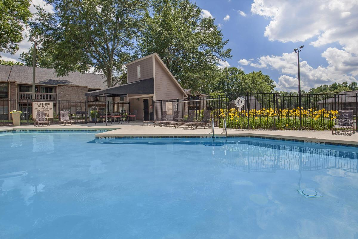 Soak up the sun in the shimmering swimming pool at Haywood Pointe in Greenville, SC.
