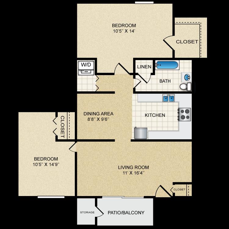Floor plan image of Sapphire