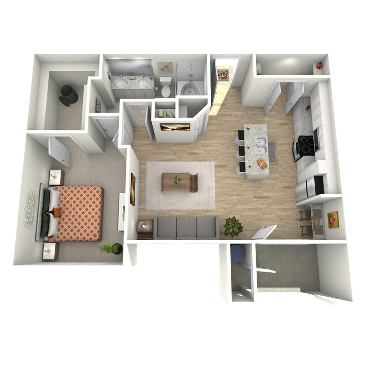 Floor plan image of A2