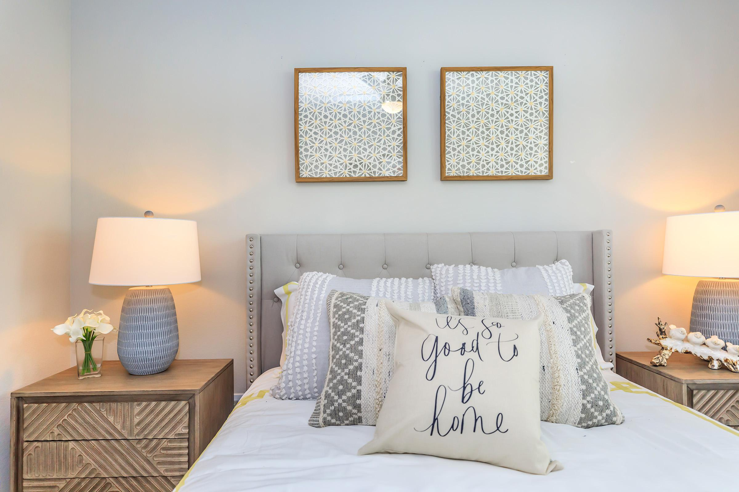 Comfy bedrooms at Ariza Gosling in Spring, Texas