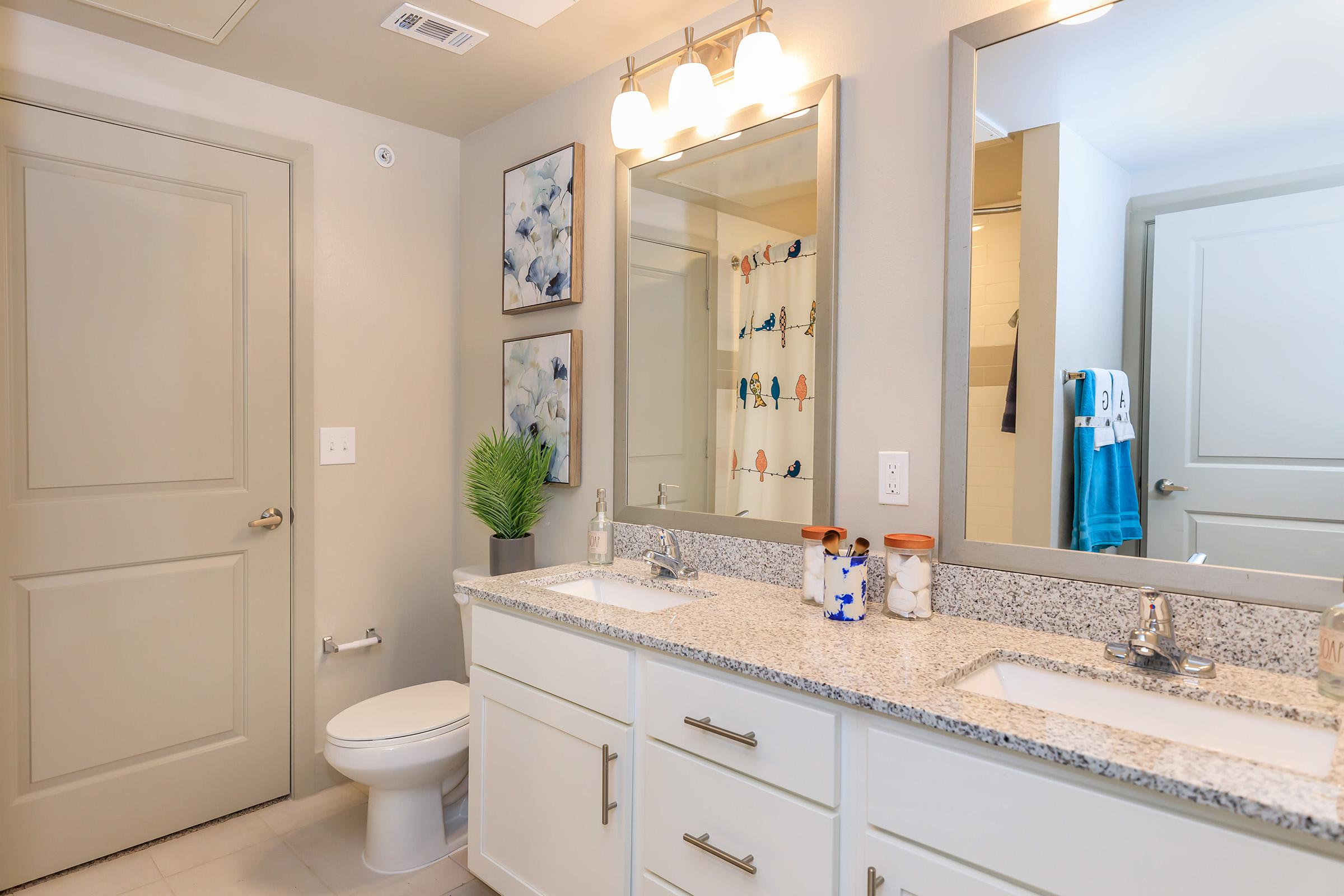 Modern bathrooms at Ariza Gosling