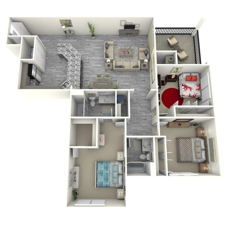 Floor plan image of Montauk