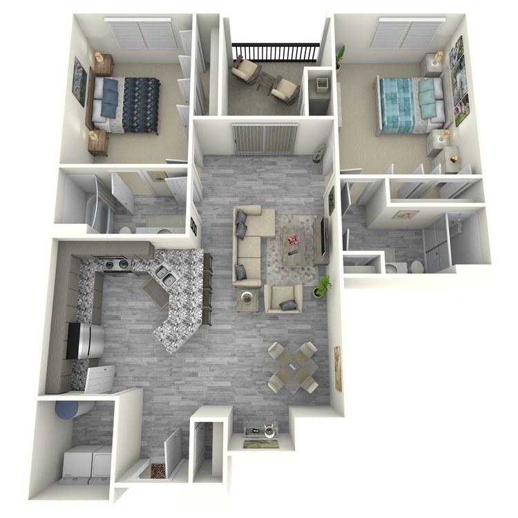 Floor plan image of Bridgehampton