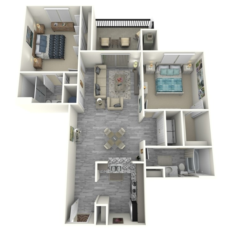 Floor plan image of East Hampton