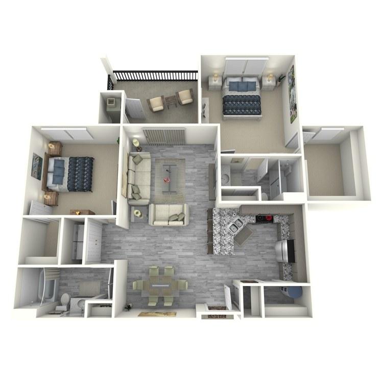 Floor plan image of Sag Harbor