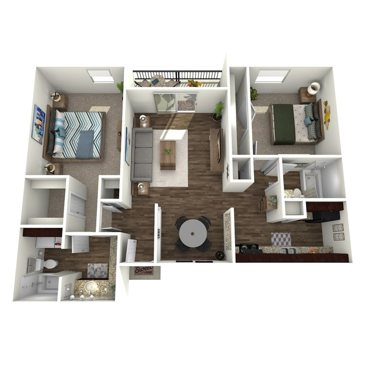 The Quapaw floor plan image