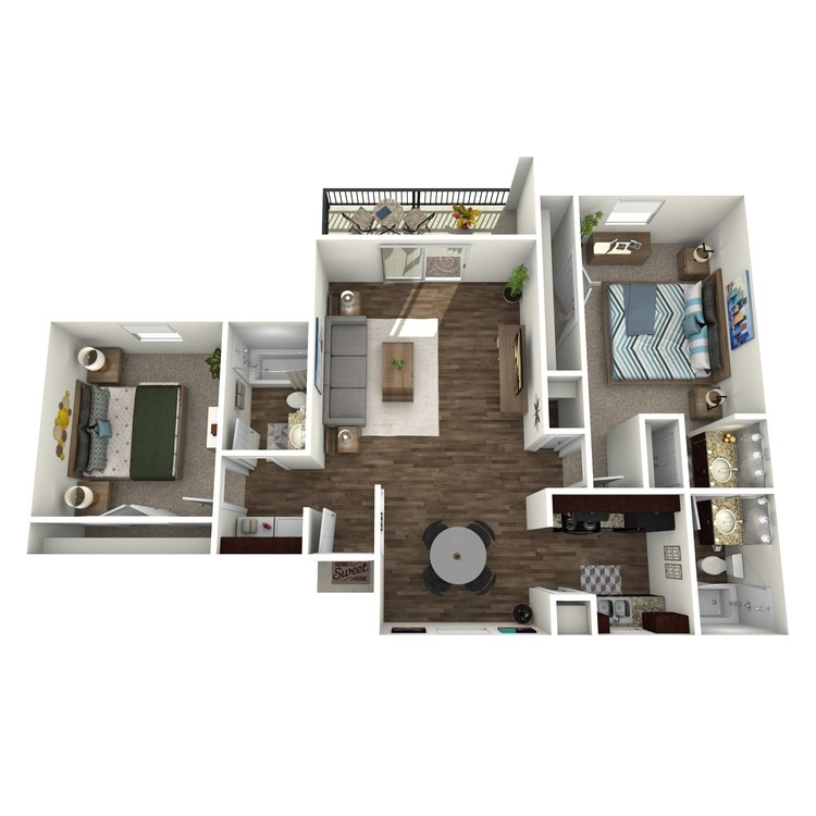 The Shawnee floor plan image