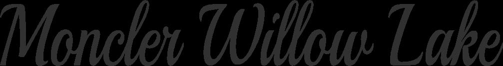 Moncler Willow Lake Logo