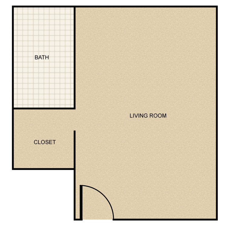 Floor plan image of Bachelor