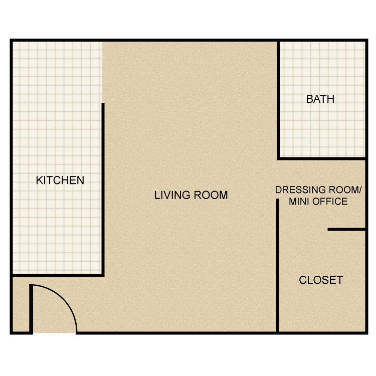 Floor plan image of Single