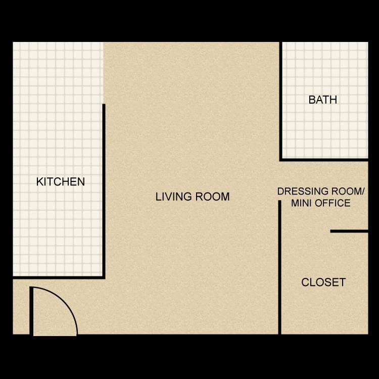 Single floor plan image