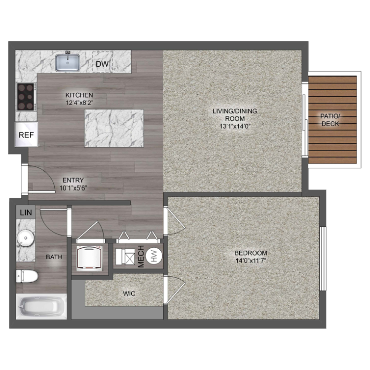 Floor plan image of The Napa