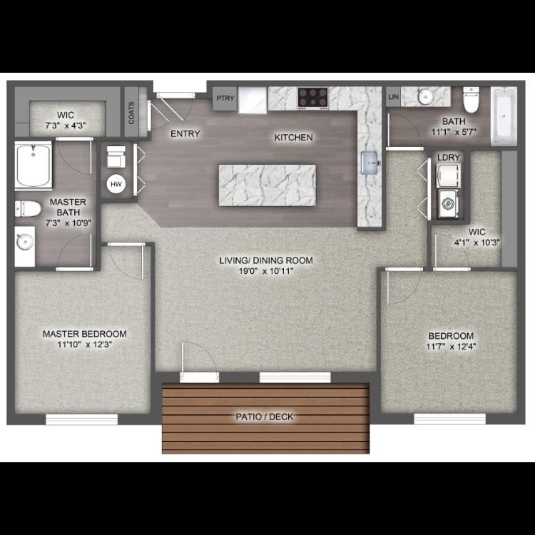 Floor plan image of The Sierra