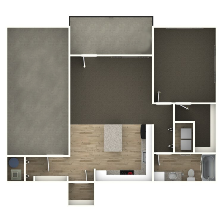 Floor plan image of The Malone