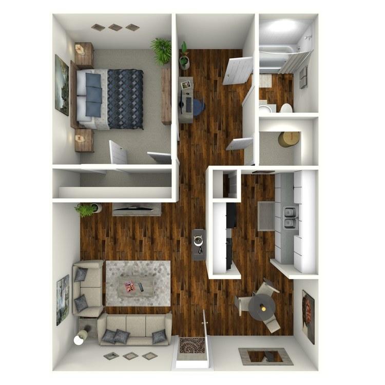 Floor plan image of Ranch Suite