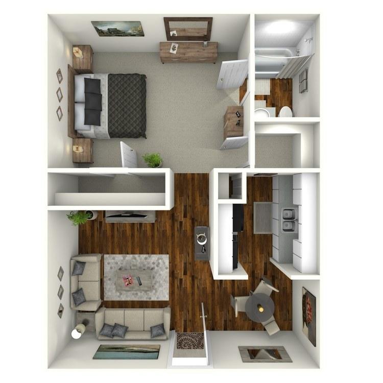 Floor plan image of City Suite