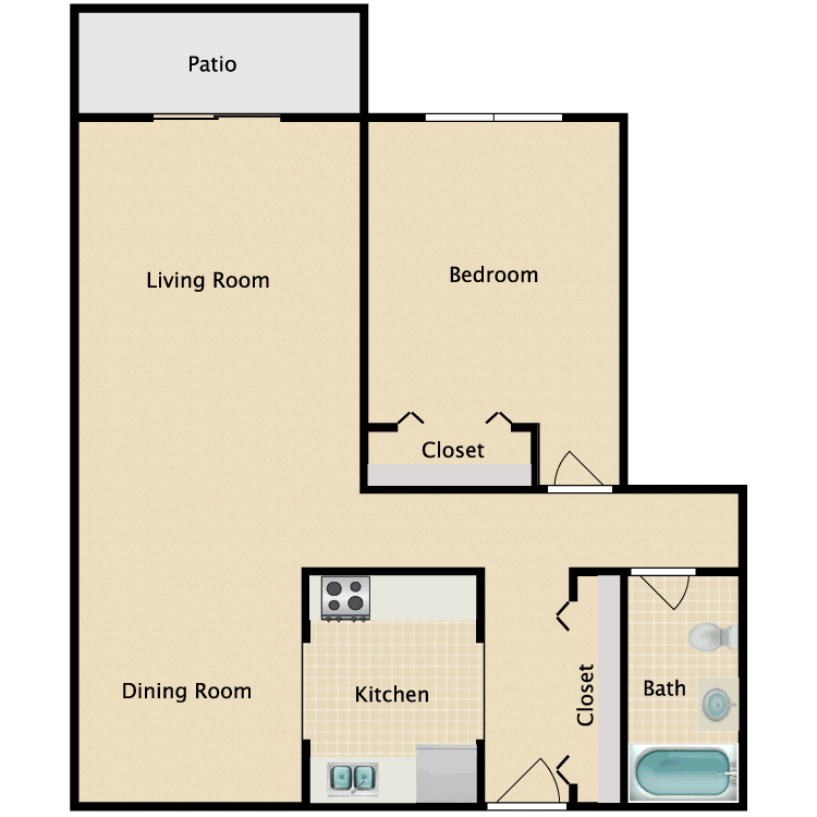 Floor plan image of Fairfield