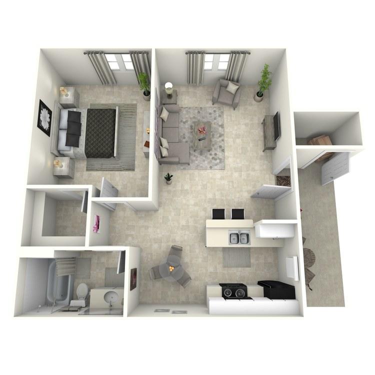 Floor plan image of Ensenada
