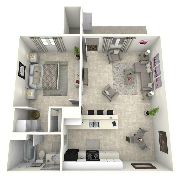 Floor plan image of Papago