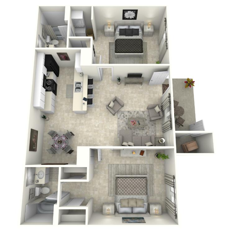 Floor plan image of Cielito