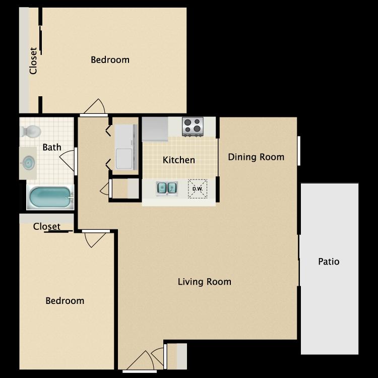 Floor plan image of Sussex