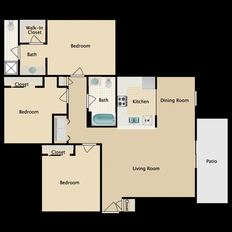 Floor plan image of Westminster