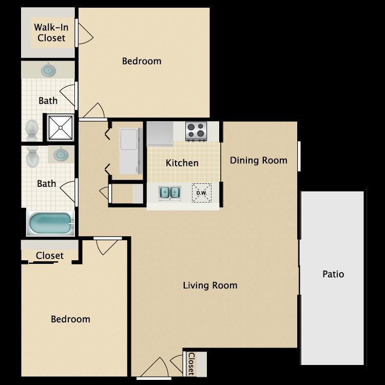 Floor plan image of Whitehall