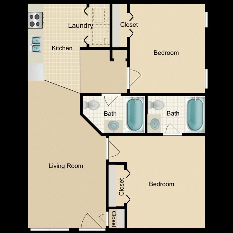 Floor plan image of Bryson