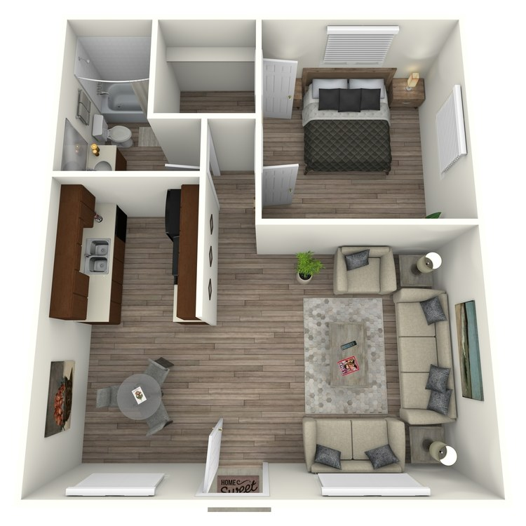 Floor plan image of The Alexander
