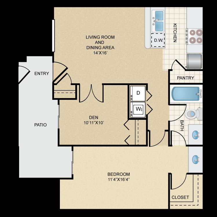 Floor plan image of Rio Bravo