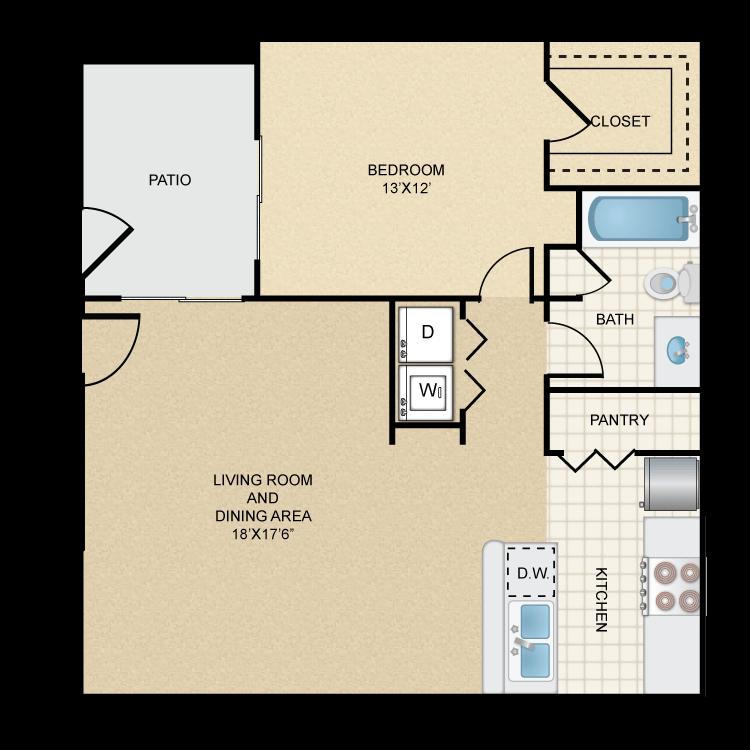 Floor plan image of Rio Conchos