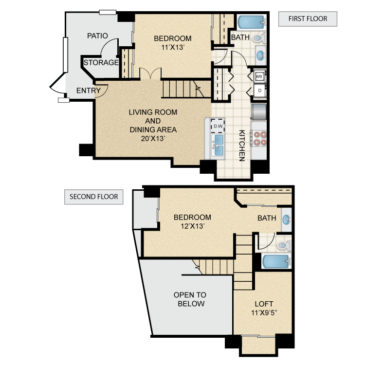 Floor plan image of Rio Grande
