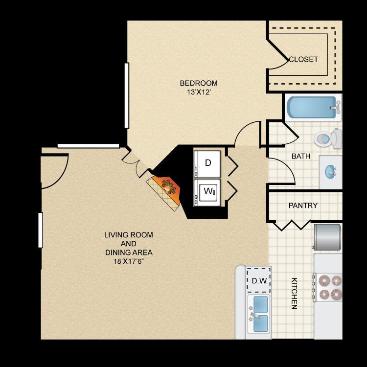 Floor plan image of Rio Salado