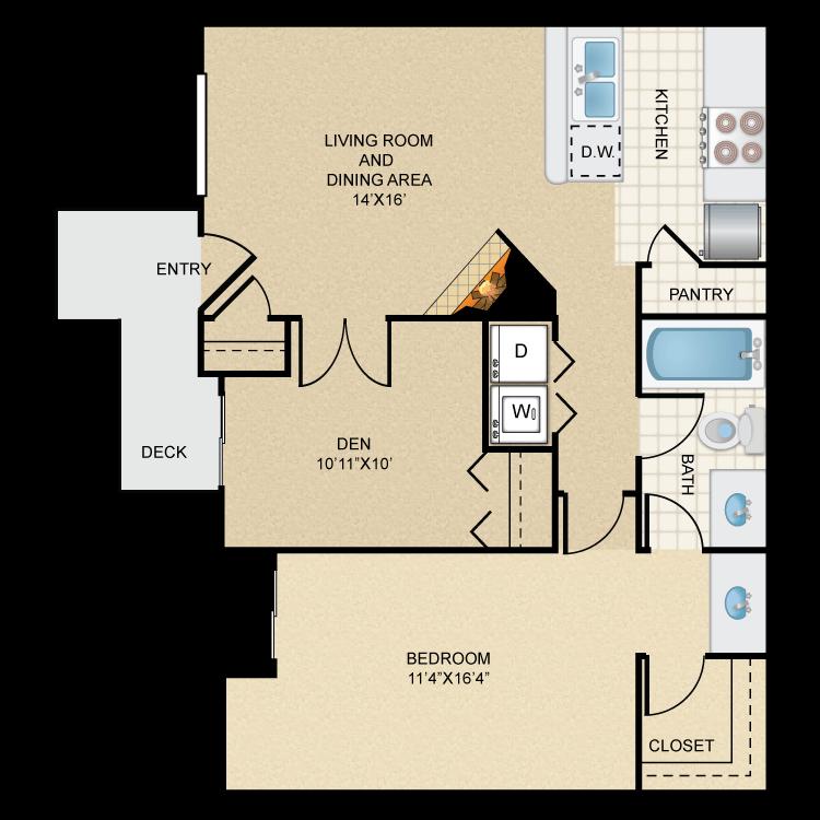 Floor plan image of Rio Sonora