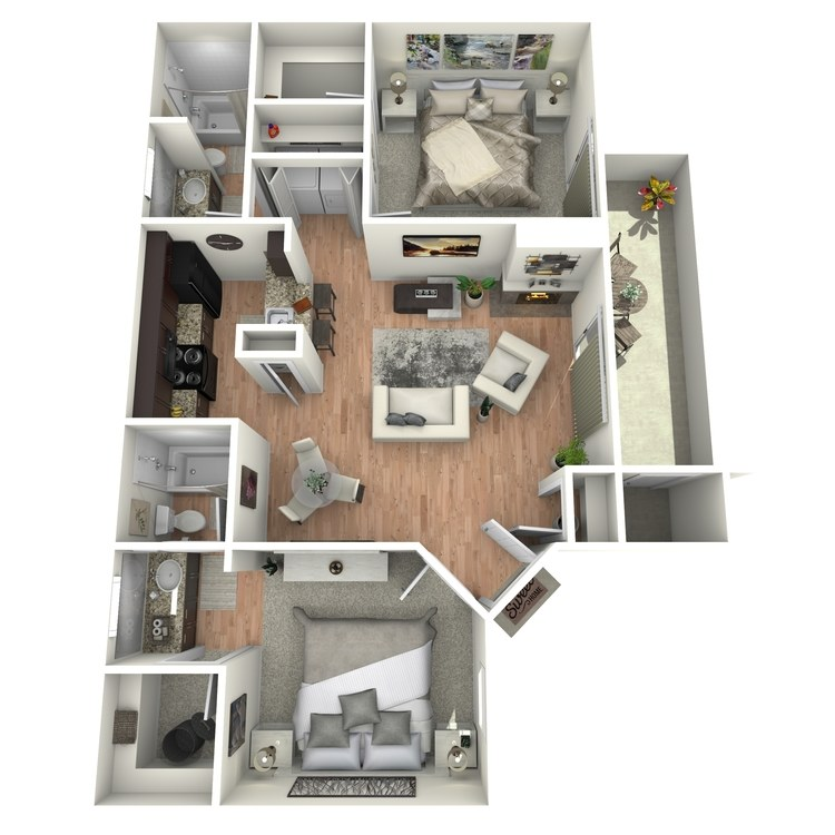 Floor plan image of Mesquite