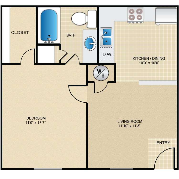 furnish this floor plan - Deefield Park Homes Floor Plans