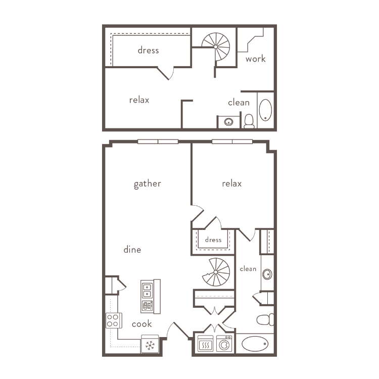Floor plan image of B6