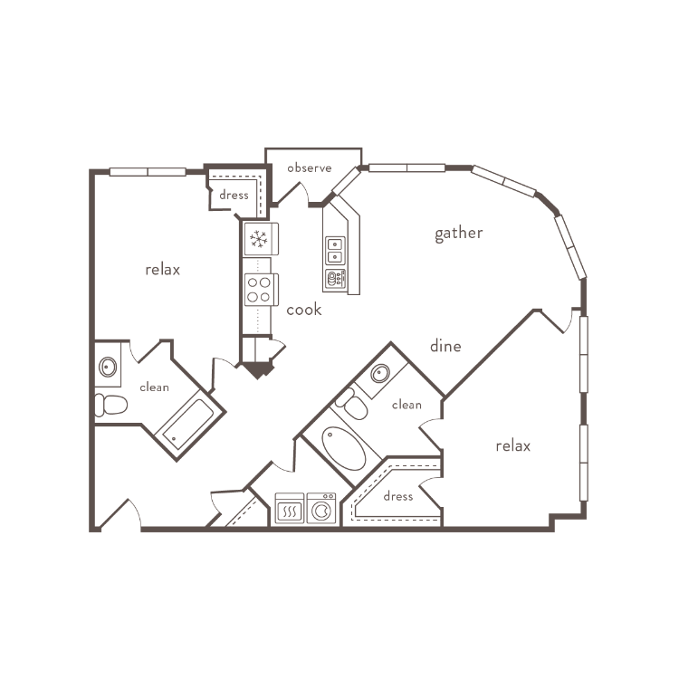 Floor plan image of B8
