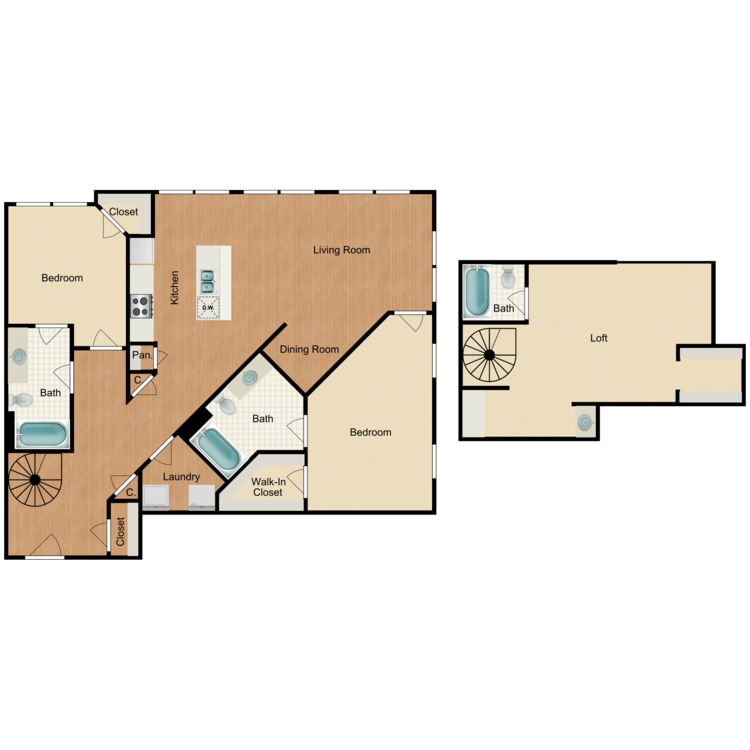 Floor plan image of C5