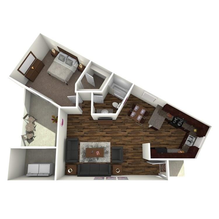 Floor plan image of 1D